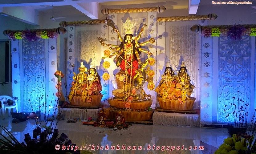 Goddess Durga pune