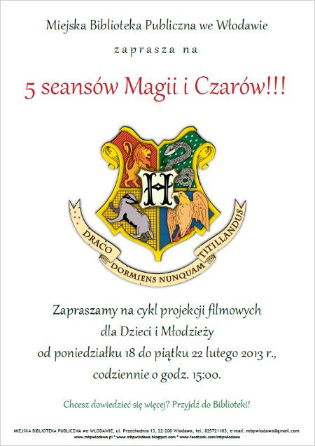 5 seansów Magii i Czarów