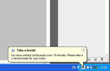 Break Reminder Software To Help You Take A Break From Computer Screens garbavar eyedefender+break+reminder