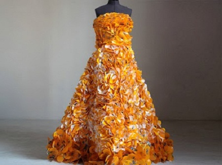 how to make a costume out of recycled material