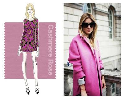 colores otoño invierno 2015 2016 rosa cashmere