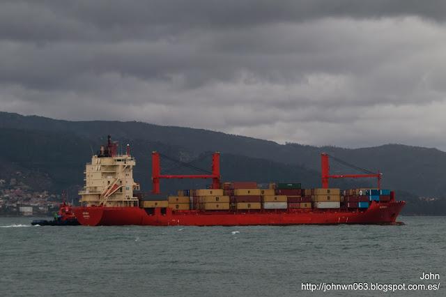 hispania, container ship, fotos de barcos, portacontenedores, maritime elsfleth