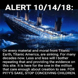 Stop conceiving kids to die on Titanic.