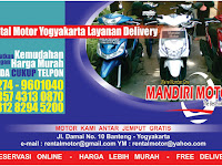 Selamat datang di Website Mandiri Motor Rental Motor Jogja
