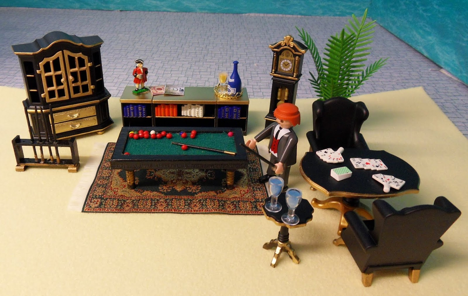 Victorian furniture ~ emma.j's playmobil