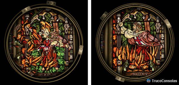 Broken Sword 1: Director's Cut - Vidriera Iglesia