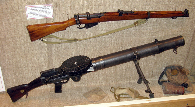 Lewis machine gun - пулемёт Льюиса «гремучая змея»