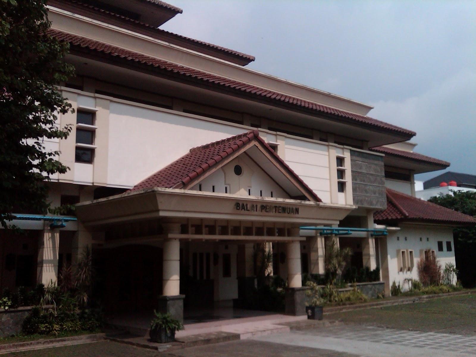 Mengenal Gedung UPI - Balai Pertemuan