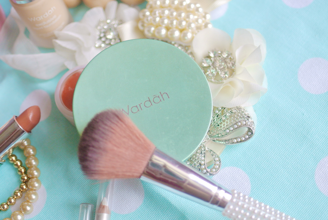 Brain Beauty Belief August 2013 Wardah Blush On Step 3 Apply