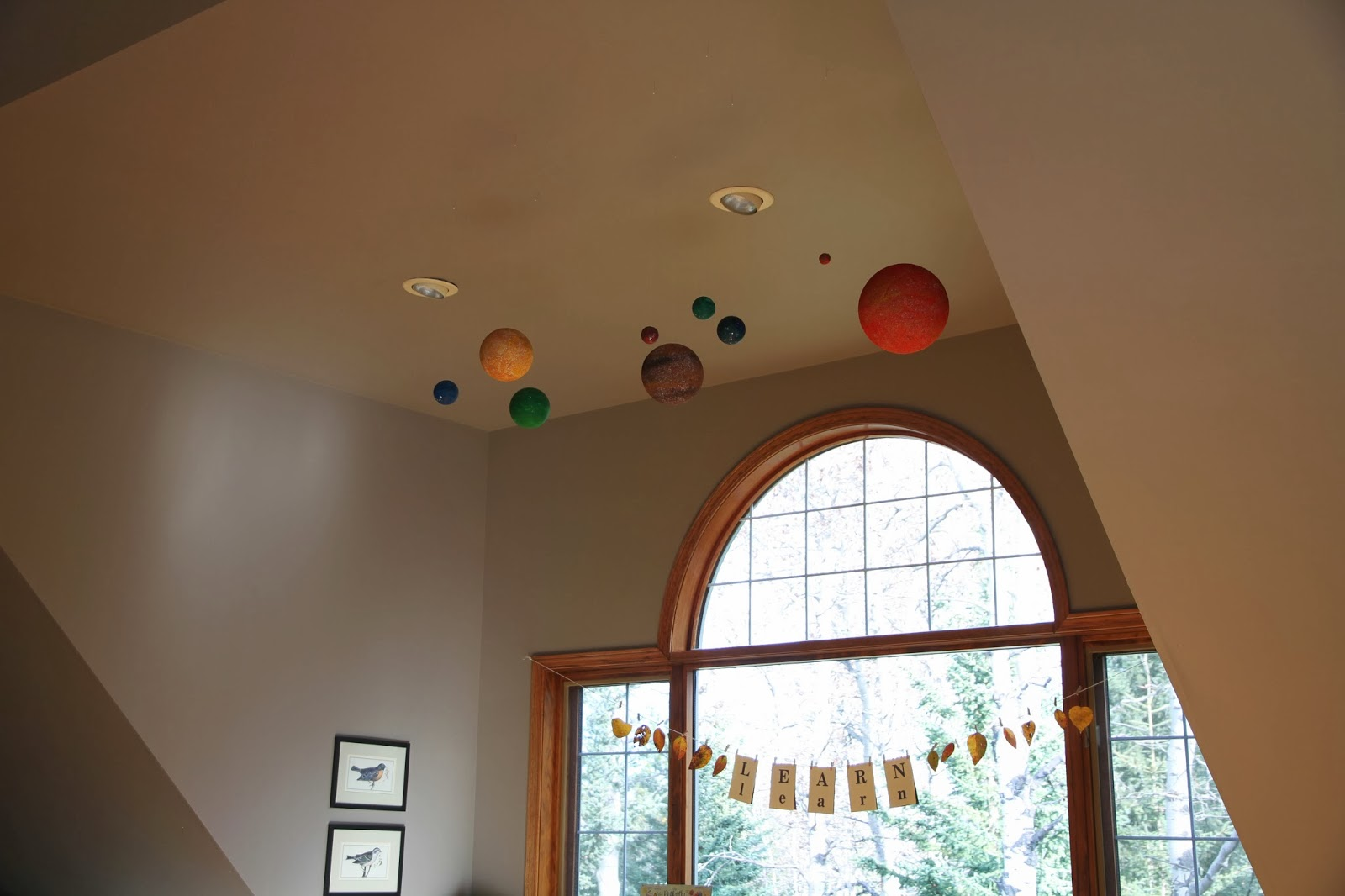 hang up solar system ceiling - photo #31