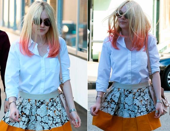 Cabelo com mecha rosa: veja as famosas que usam a tendência