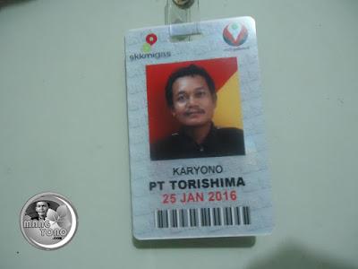 ID. Badge Mang Yono ... keren khan fotonya hehehe