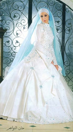 Mehndi Dress With Hijab : Hijab wedding dress mehndi disigns