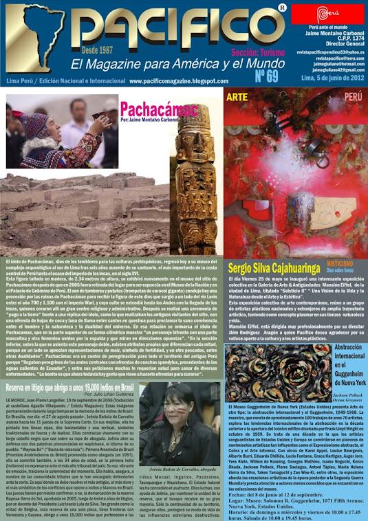 Revista Pacífico Nº 69 Turismo