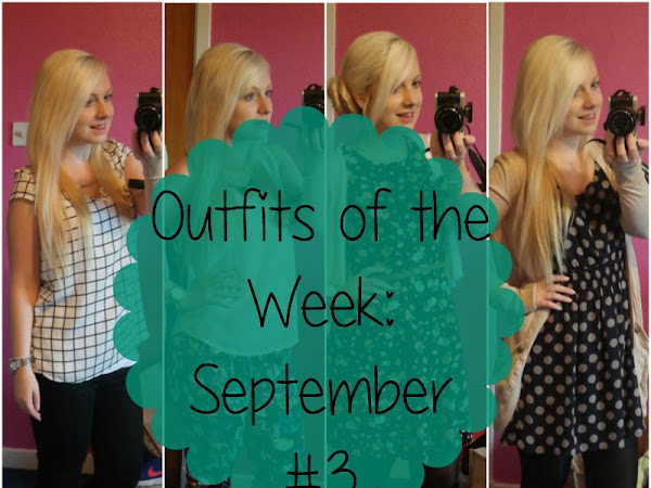 Outfits of the Week: September #3