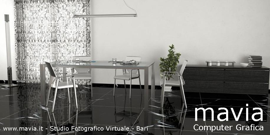 Esterni 3d,Rendering 3d,Architettura 3d: pavimenti-rivestimenti-marmo