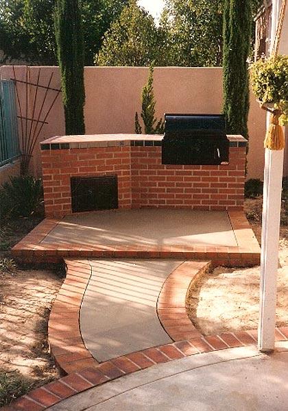 Brick Barbecues5
