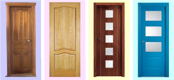 Fotos y dise os de puertas dise o de puertas interiores - Puertas interiores en madera ...
