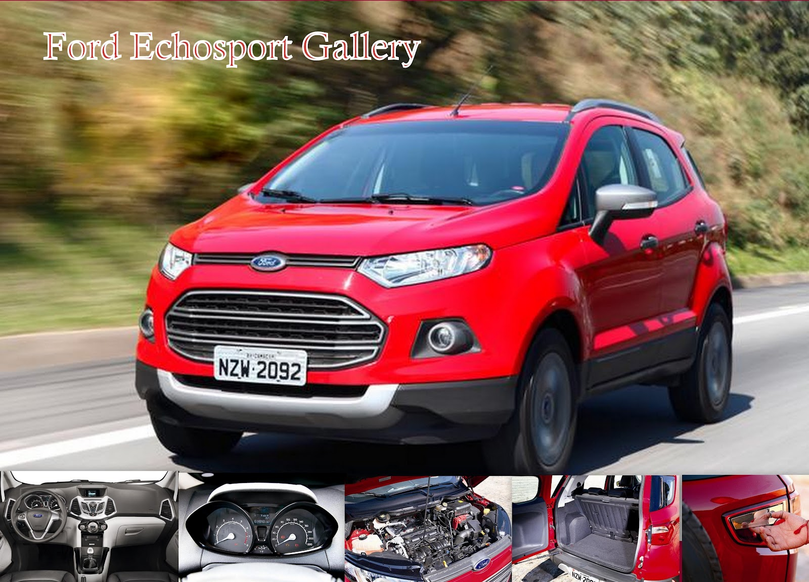 ford ecosport review test drive and video hi tech info. Black Bedroom Furniture Sets. Home Design Ideas