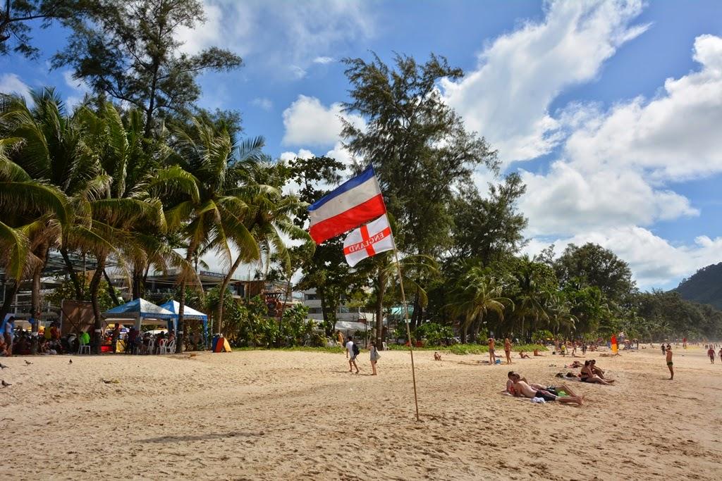 Patong Beach Phuket flag