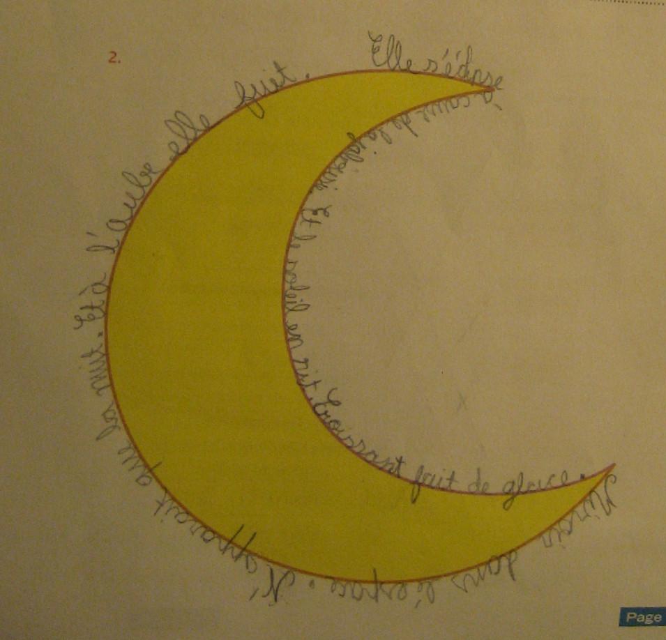 La bulle de no po me sur la lune for Miroir sur la lune