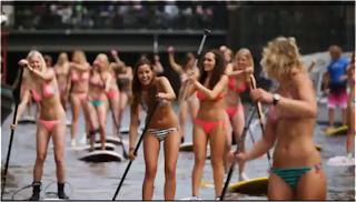 Promotion Superkini SUP Amsterdam O