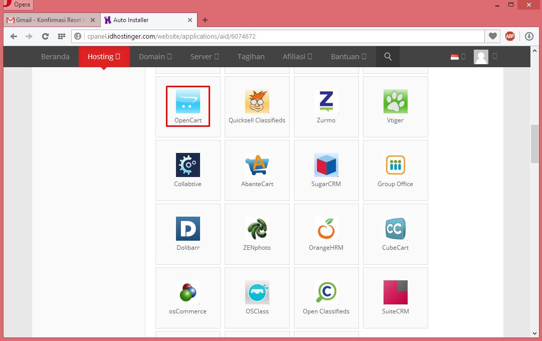 Membuat Website Toko Online Dengan CMS Opencart 7