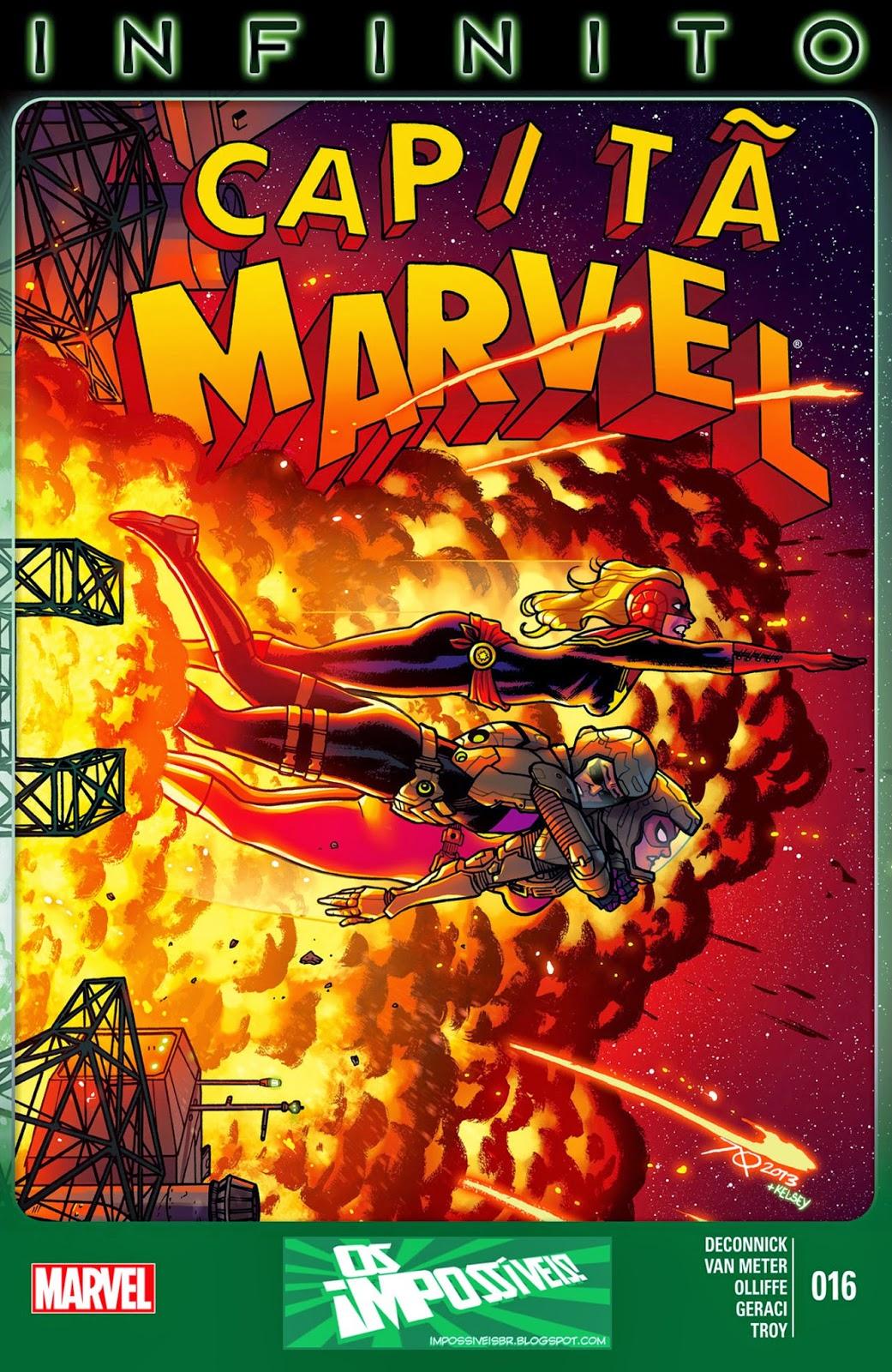 Nova Marvel! Capitã Marvel #16