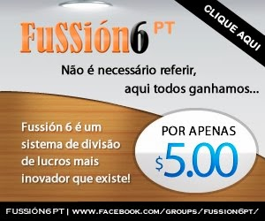 Fussion6 o maior sistema de compartilhamento de riquezas