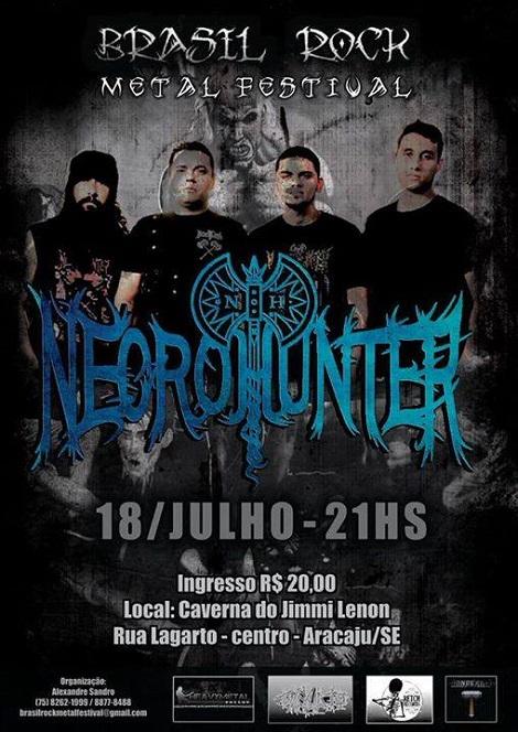 18-07-2015 - NECROHUNTER - Aracaju - SE