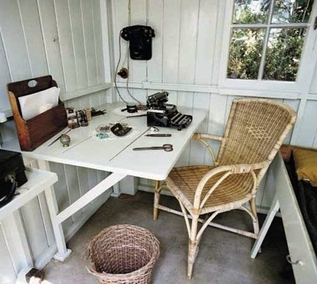 Workspaces Of The Greatest Artists Of The World (38 Pictures) - George Bernard Shaw, playwright