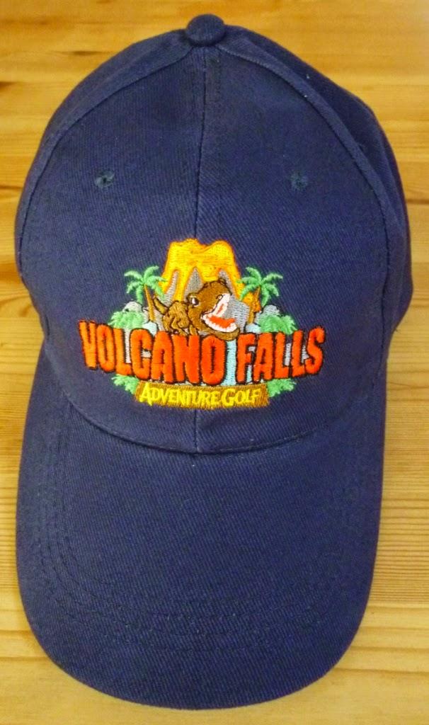 Volcano Falls Adventure Golf at Xscape in Castleford, Yorkshire
