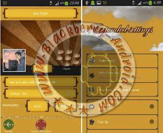 BBM Mod Warna Orange New v2.8.0.21 Apk
