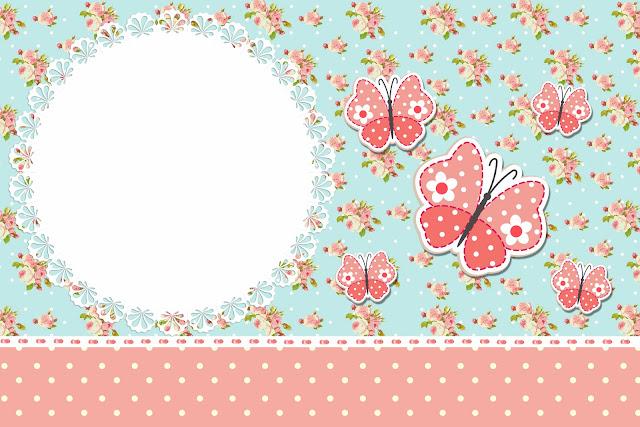 decoracao jardim encantado vintage : decoracao jardim encantado vintage:Convites Gratuitos Vintage Floral para festas Jardim Encantado – Dicas