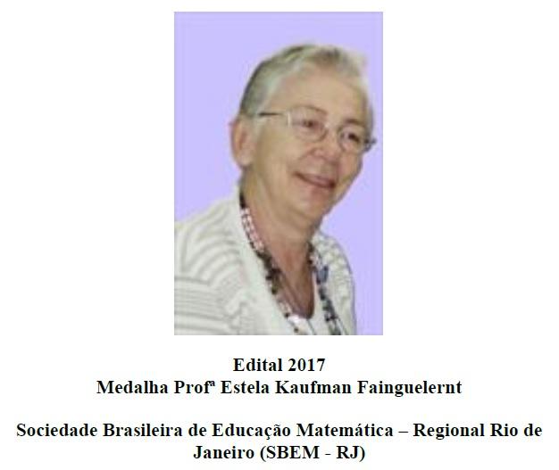 Medalha Estela Kaufman