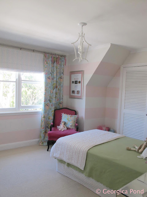 Bondville Poppy S Pink And Green Bedroom