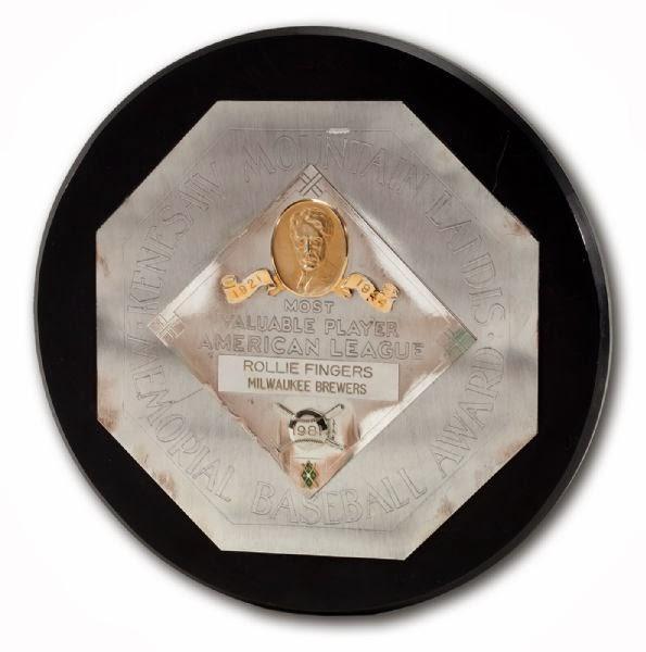 1981 AL MVP Award