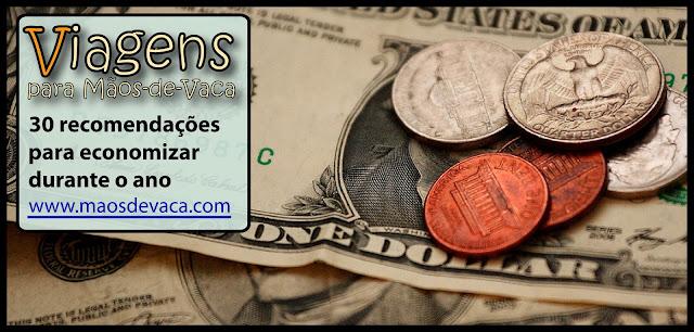 30 recomendações para economizar durante o ano