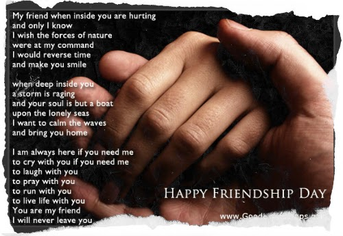 Friendship day quotes for Facebook and whats app