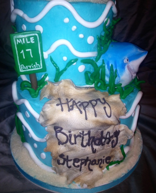 Sweet Ts Cake Design Perry The Platypus And Bruce The Shark Theme
