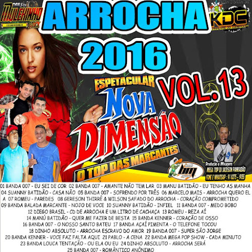 CD NOVA DIMENSÃO ARROCHA VOLUME 13