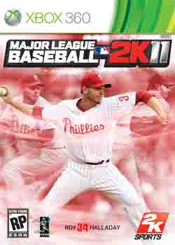 baseballok Download   Jogo Major League Baseball 2K11 XBOX360 (2011)