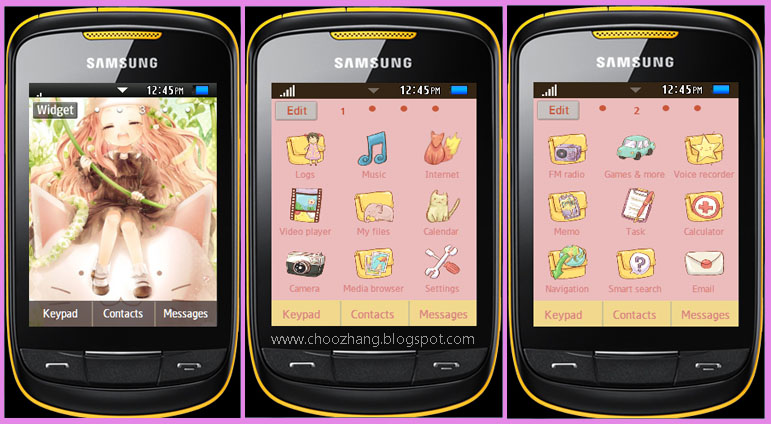 ChooZhang - Corby Cat: Samsung Corby 2 or S3850 - Kiddie