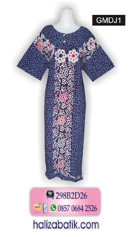 085706842526 INDOSAT, Baju Batik, Model Batik, Baju Batik Modern, GMDJ1, http://grosirbatik-pekalongan.com/daster-gmdj1/