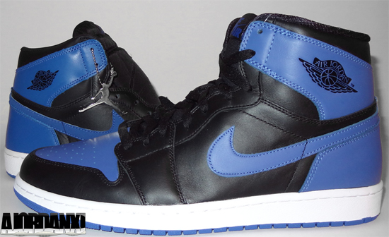 ajordanxi Your 1 Source For Sneaker Release Dates Air Jordan 1 Retro Black Varsity Royal 2001 vs 2013