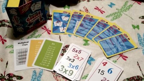 super genius multipleication game contents