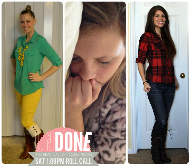 {The UNDONE Blog} Real Life Mom Fashion - 1:09 pm on a Saturday