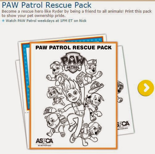 Paw Patrol Free Printable Coloring Pages.