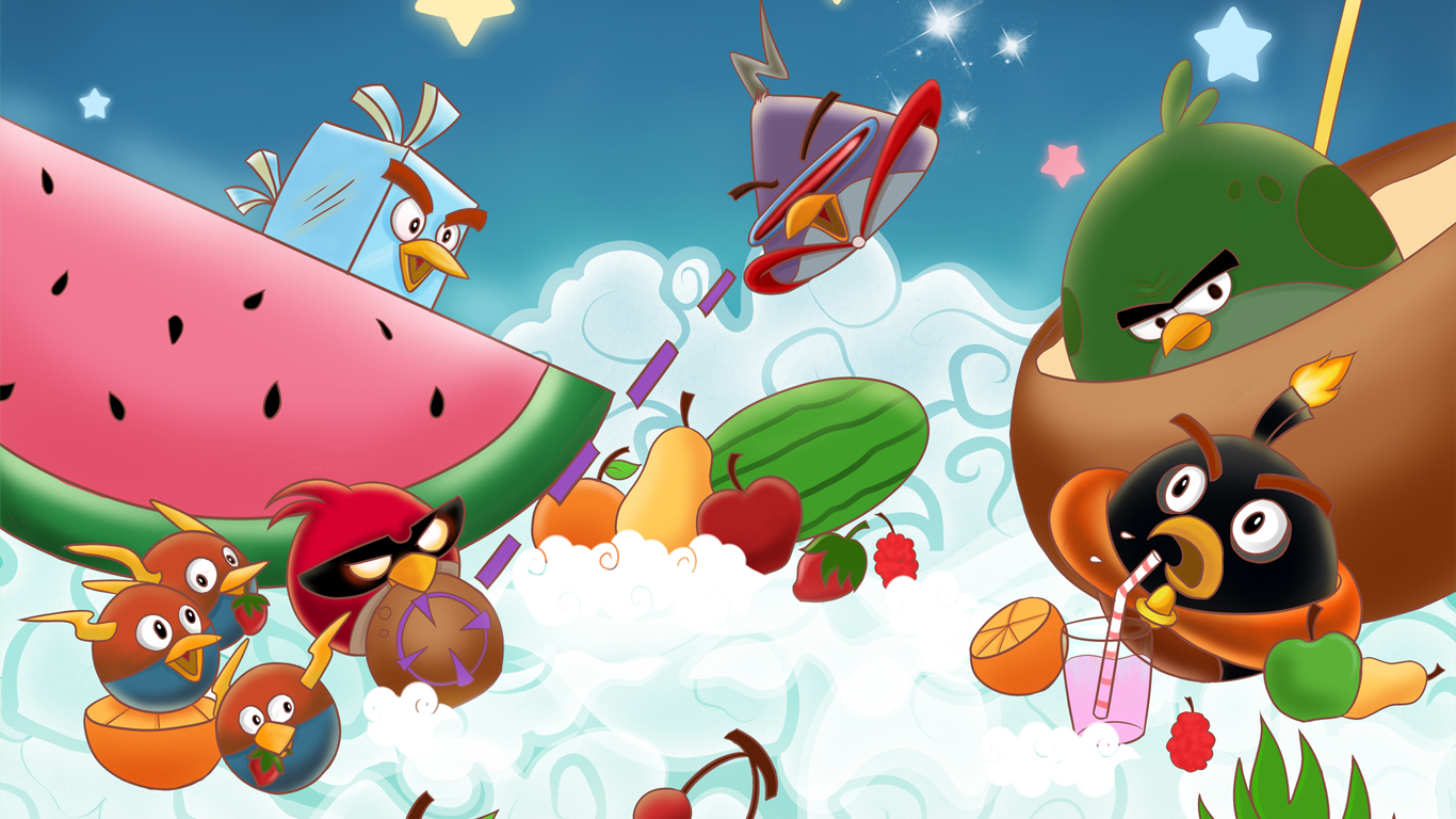 iwallpapers: angry birds wallpapers