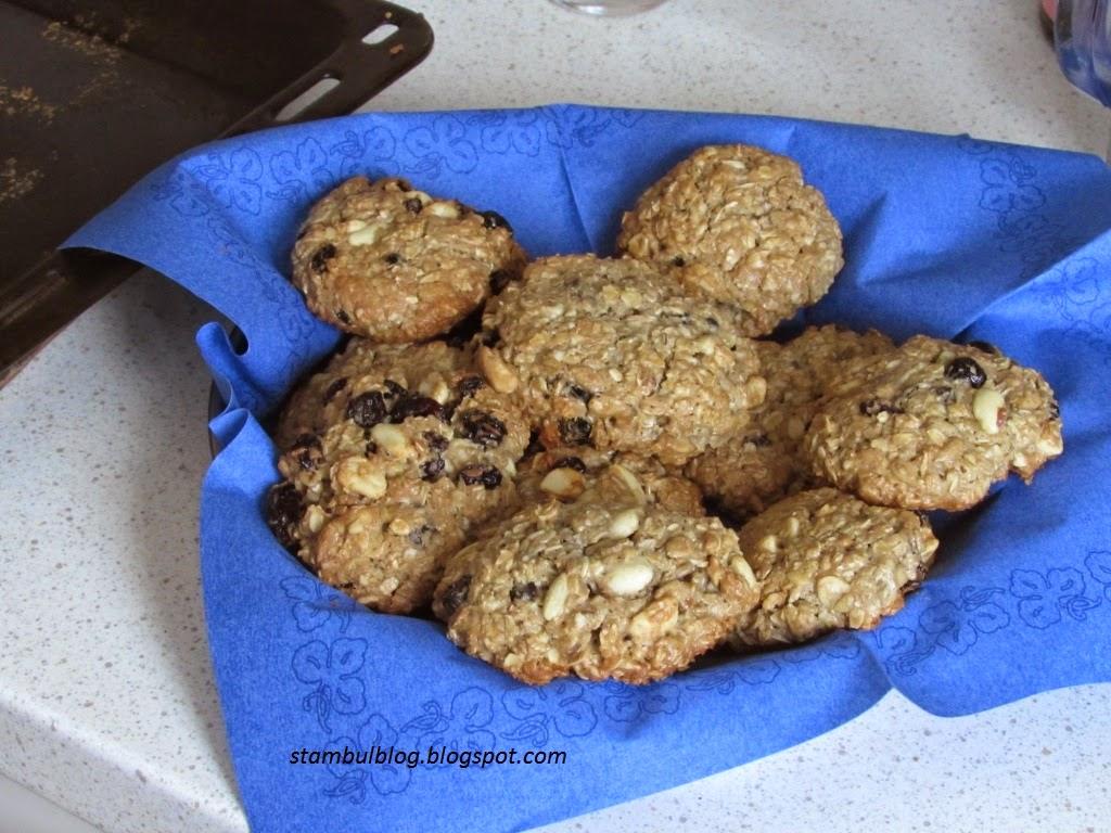 суперполезное печенье с семечками